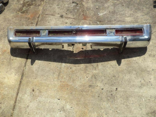 AMC Ambassador rear bumper core