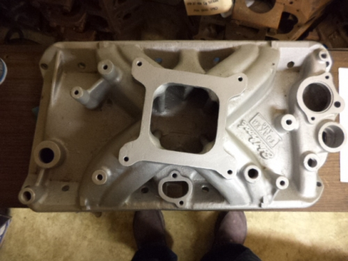 core Edelbrock carburetor  It was off a 304 AMC, & was running when pulled
