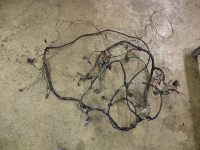 Down and Dirty Dan's – AMC AMX Javelin firewall wiring harness. Damaged.Down and Dirty Dan's